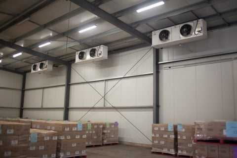 Projects - Refrigeration coolroom