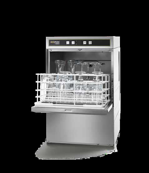 ECOMAX G404 Glasswasher -