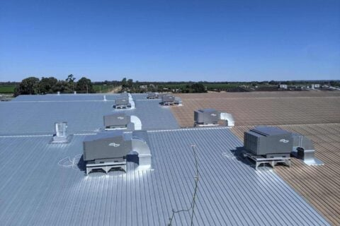 AllState Air conditioning solution for Casella Family Brands